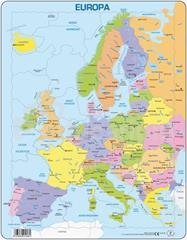 Puzzle Europa Mapa Polityczna Mapy Puzzle I Maty Educarium