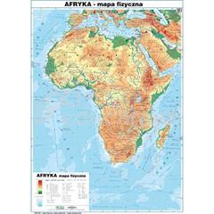 Afryka Mapa Polityczna Konturowa Mapy Inne Kontynenty